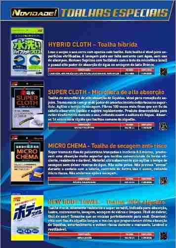 Toalha Hibrida Hybrid Cloth 30x40cm Soft99 Lavagem Absorção