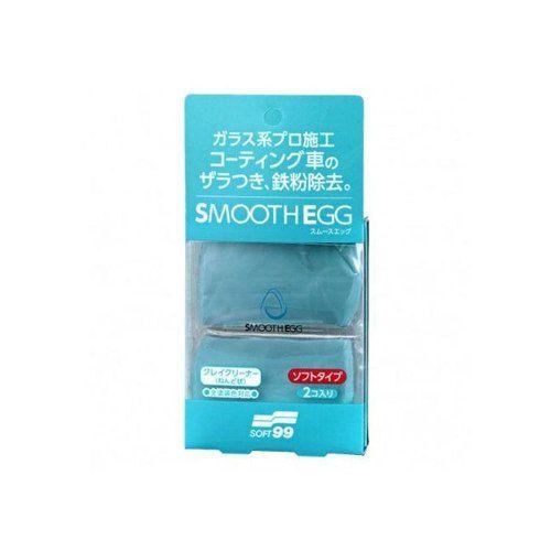 Smooth Egg Clay Bar Soft99 Com 2 Unidades Soft99 Descontamin