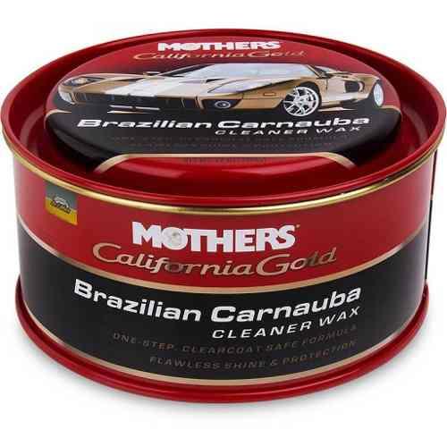 Cera Cleaner Wax Pasta Brazilian Carnauba Mothers 340gr