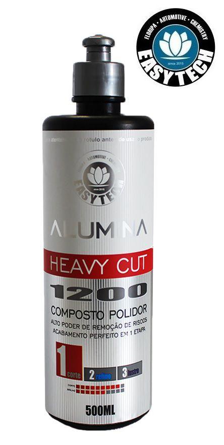 ALUMINA HEAVY CUT 1200 COMPOSTO POLIDOR DE CORTE PESADO 500ML EasyTech