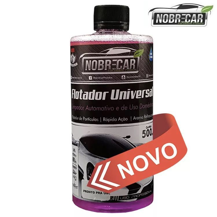 Apc Automotivo Flotador Universal 500ml Nobre Car Limpeza