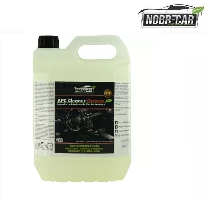 Apc Cleaner Orange  - Limpador Multiuso Nobre car - 5l