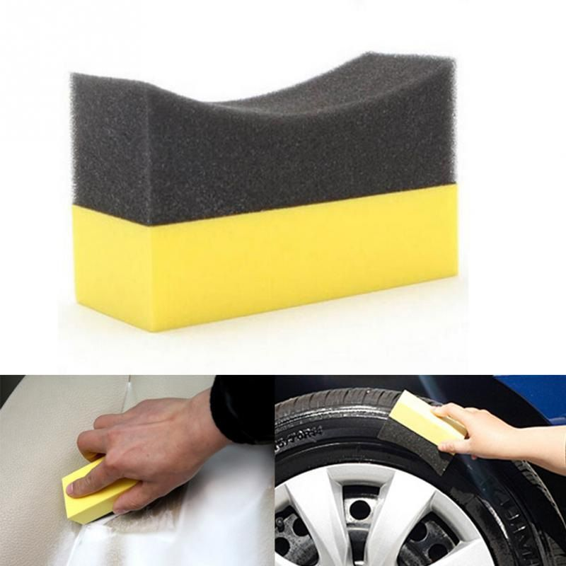 Aplicador de espuma para pretinho c/ suporte amarelo e preto