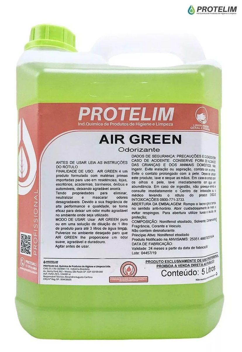 Aromatizante Air Green 5L Protelim odorizador