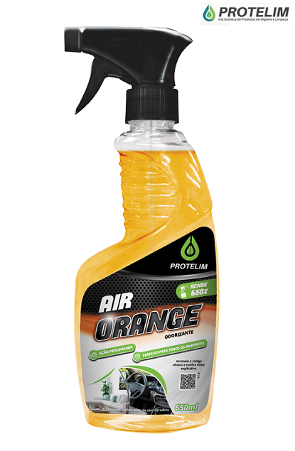 Aromatizante Air Orange 650ml Protelim odorizador