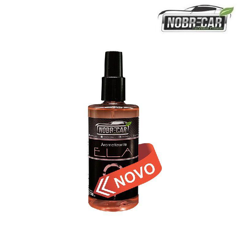 Aromatizante Automotivo Aroma Ela 250 ml Nobre Car Novo