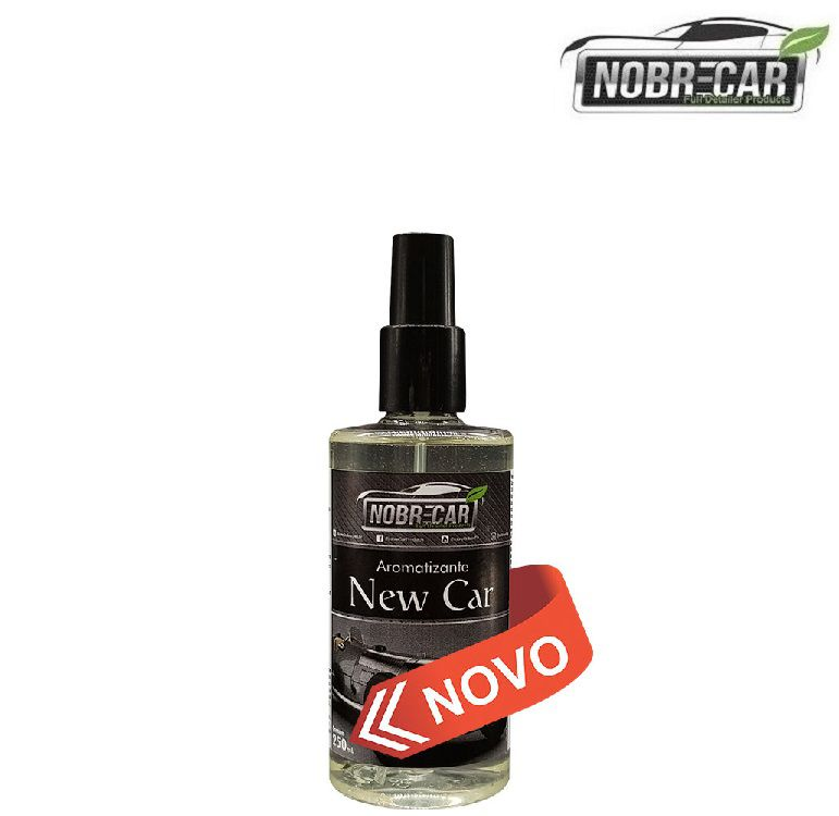 Aromatizante Automotivo Aroma New Car 250ml Nobre Car