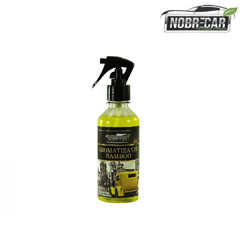 Aromatizante Perfume Odor Aroma Ambiente Bamboo 250ml Nobre car