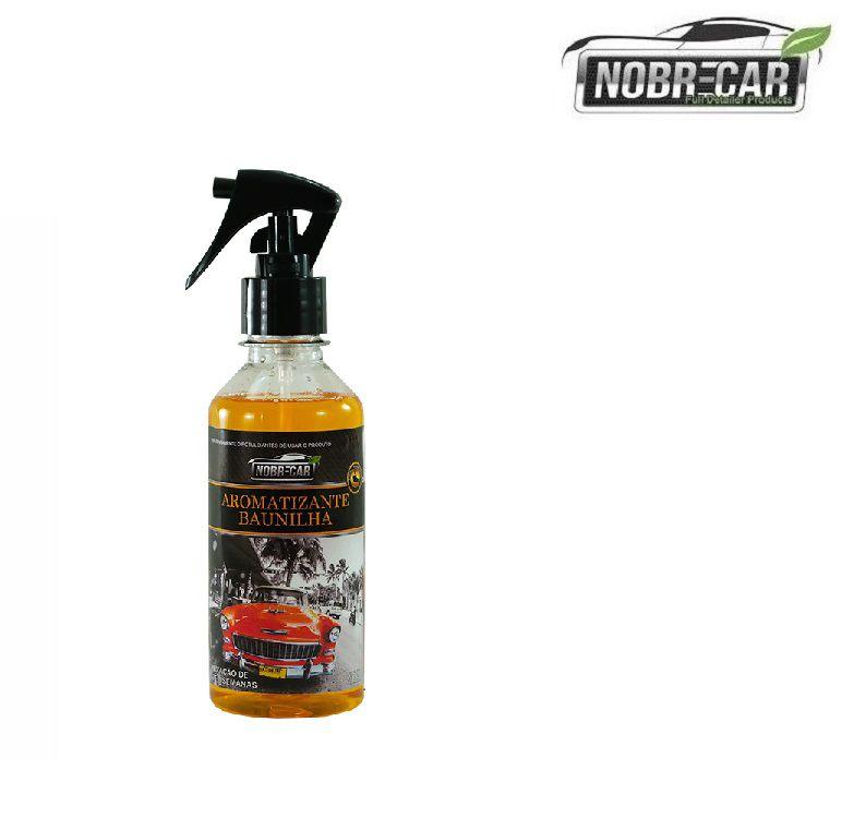 Aromatizante Perfume Odor Aroma Ambiente Baunilha 250ml Nobre Car