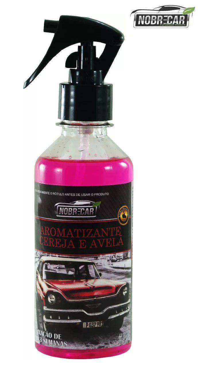 Aromatizante Perfume Odor Aroma Ambiente Cereja Avela 250ml Nobre Car