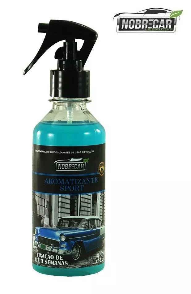 Aromatizante Perfume Odor Aroma Ambiente Sport 250ml Nobre Car