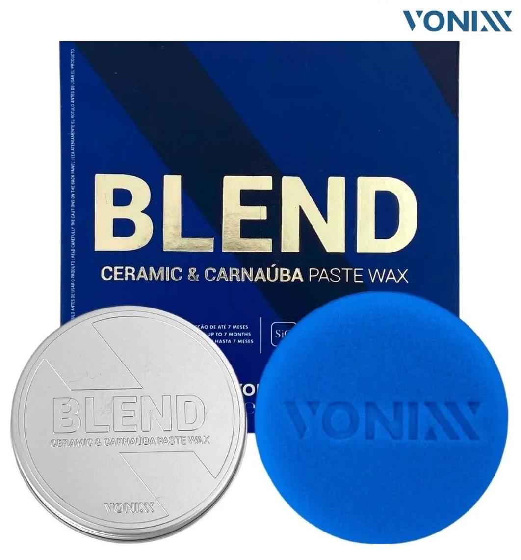 Blend Carnaúba Sílica Paste Wax 100ml Vonixx