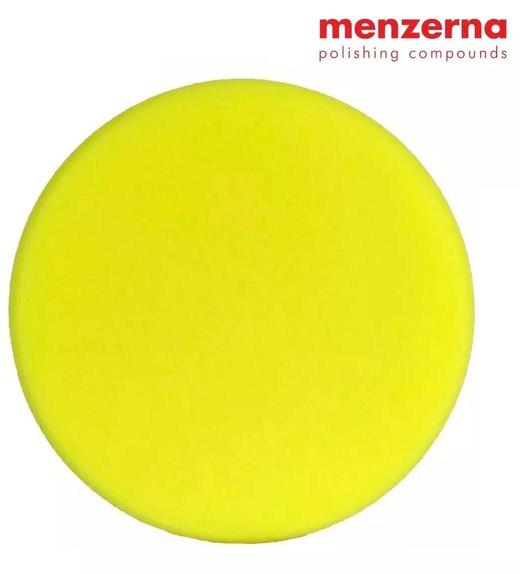 Boina Espuma Amarela Média Refino 6 pol P150m Menzerna 150mm