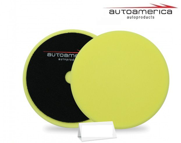 Boina Espuma Low Cost Amarela Refino 6 Pol 150mm Autoamerica