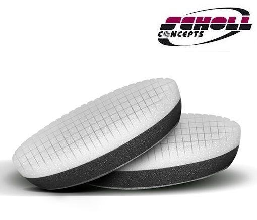 """Boina Espuma Spider Branca 90mm Corte Agressivo 3,5"""" Scholl Concepts"""