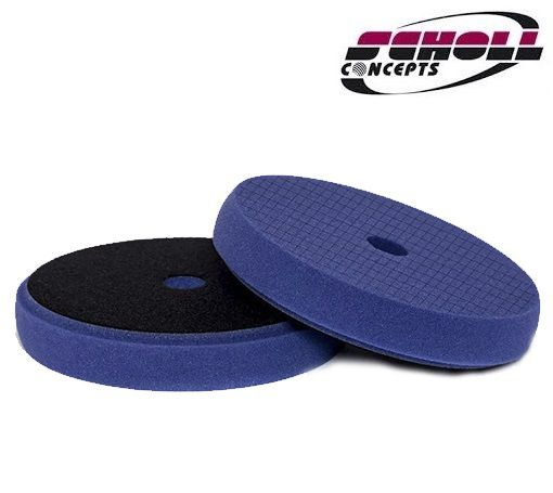 "Boina Espuma Universal Spider Azul 165mm 6,5"" Corte Scholl Concepts"
