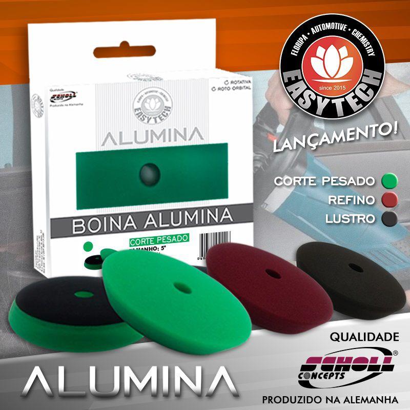 Boina Para Corte Pesado Verde Alumina 5,5 Pol Easytech 140mm