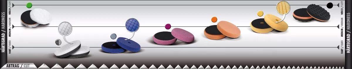 "Boina Premium Laranja 90mm 3,5"" Lustro Macia Scholl Concepts"
