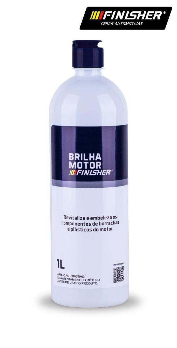 Brilha Motor 1L P/ Plásticos E Borrachas Finisher verniz de