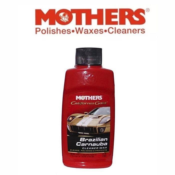 Cera Cleaner Wax Líquida Brazilian Carnauba Mothers 118ML