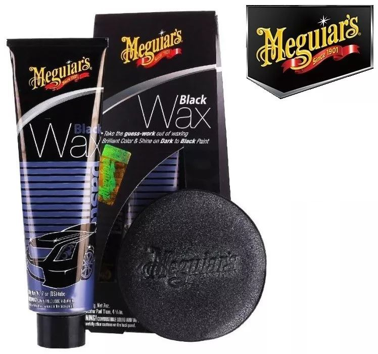 Cera Cores Escuras Meguiars Black Wax G6207 198g