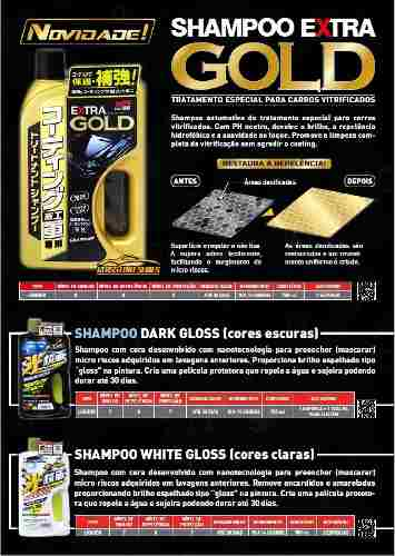 Cera Fusso Coat Soft99 Light Carros Cores Claras 200g Branca + 01 Shampoo Para Carros Vitrificados Gold Extra Soft99 750ml