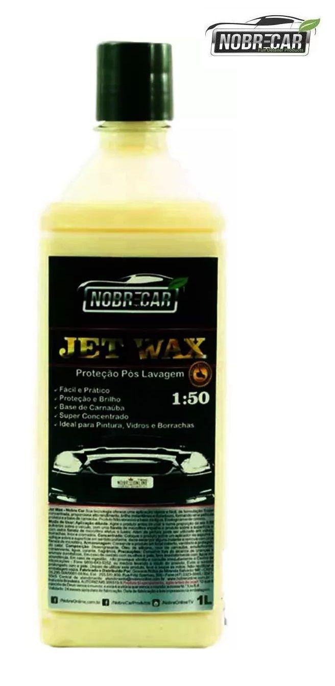 Cera Jet Wax Super Concentrada Alto Rendimento 1L Nobre Car