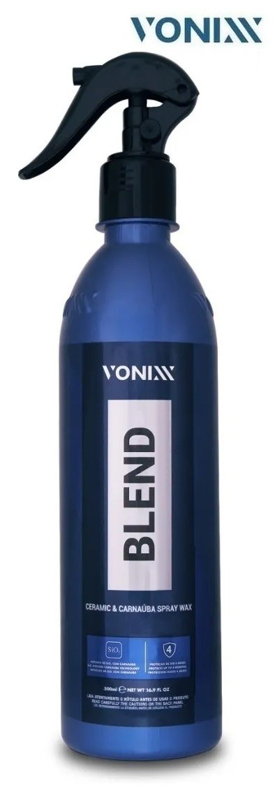 Cera Liquida Blend Carnauba C/ Silica Spray Wax Vonixx 473ml Vonixx