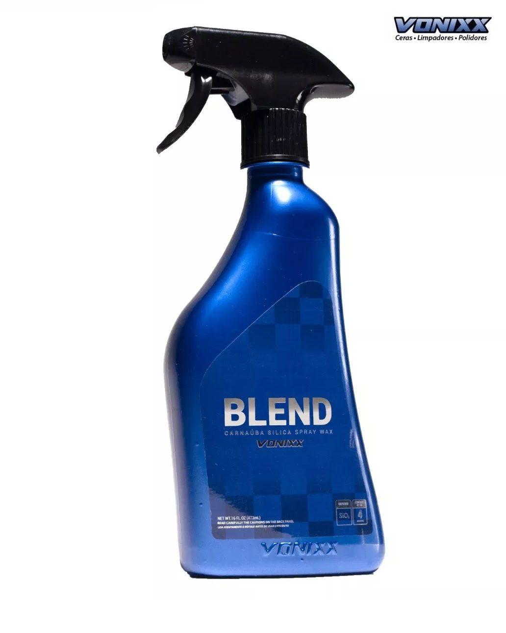 Cera Liquida Blend Carnaúba Spray Vonixx 473ml +2MICR. + apl