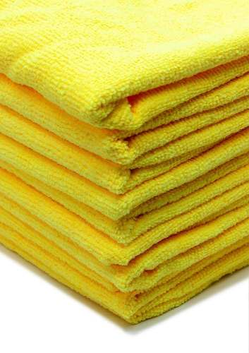 Cera Meguiars Cleaner Wax Pasta Limpadora A1214 + 02 Flanela Toalha Microfibra 40 X 60 Cm Autoamerica (sem embalagem / blister)