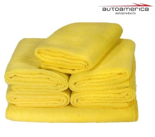 Cera Meguiars Cleaner Wax Pasta Limpadora A1214 + 04 Flanela Toalha Microfibra 40 X 60 Cm Autoamerica (sem embalagem / blister)