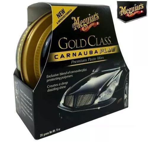 Cera Meguiars Gold Class Pasta Wax G7014 + 3 Flanela Toalha Microfibra 40 X 60 Cm Autoamerica