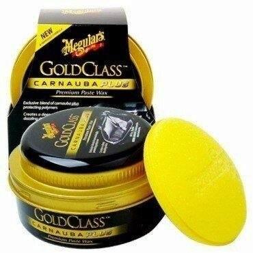 Cera Meguiars Gold Class Pasta Wax G7014 + 4 Flanela Toalha Microfibra 40 X 60 Cm Autoamerica