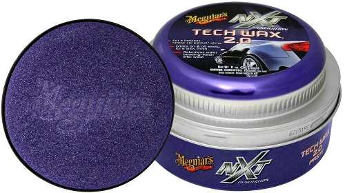Cera Nxt Tech Wax 2.0 Meguiars Pasta Roxa G12711 + 05 Flanela Toalha Microfibra 40 X 60 Cm Autoamerica (sem embalagem / blister)