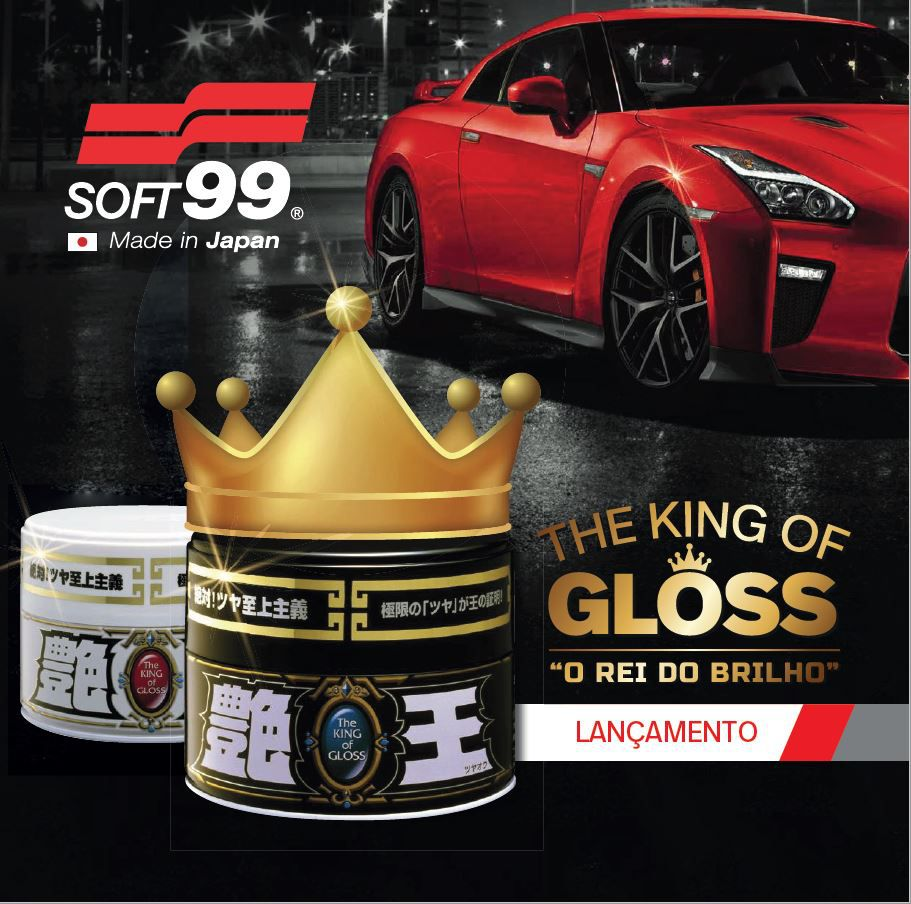 Cera The King of Gloss Black & Dark sintética 300g Soft99