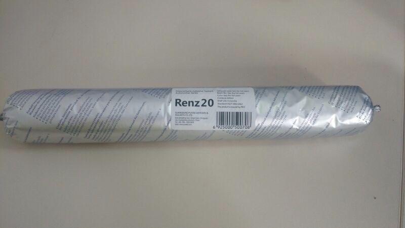 Cola Vedante Auto Vidros Poliuretano Pu Star Renz 20 600ml (sache)