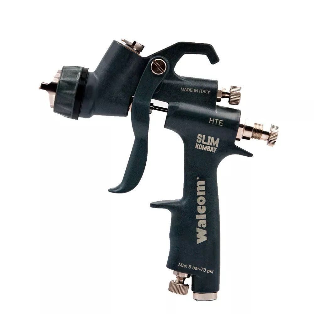 Pistola De Pintura Slim Kombat Walcom Hte Kevlar 1.5