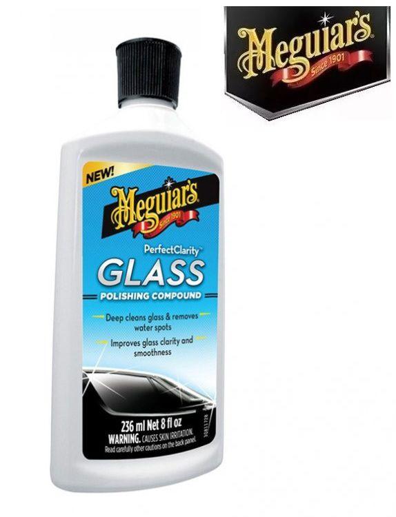 Descontaminante de Vidros Perfect Clarity Glass Polishing Compound Meguiars G8408 (236ml)