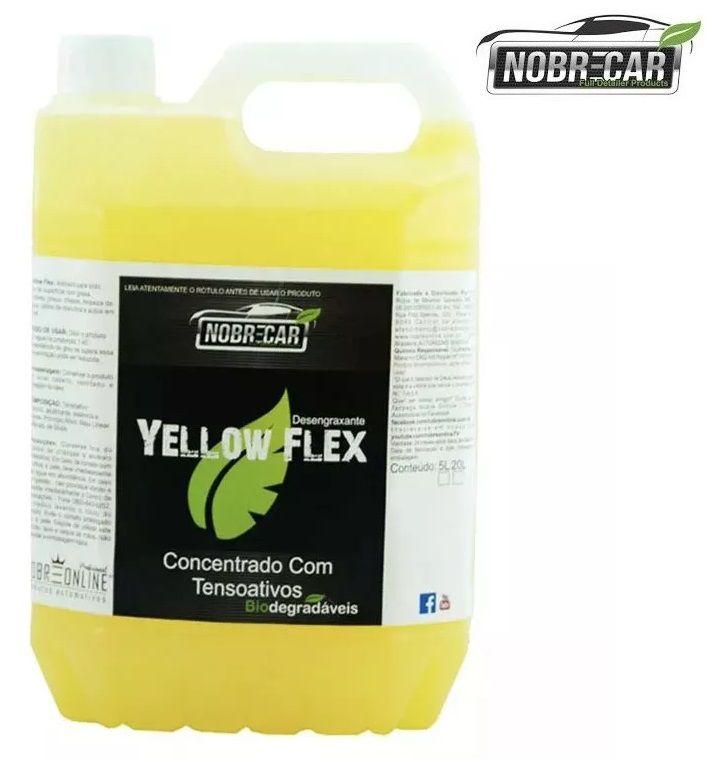 Desengraxante Concentrado Yellow Flex 5L  Nobre Car
