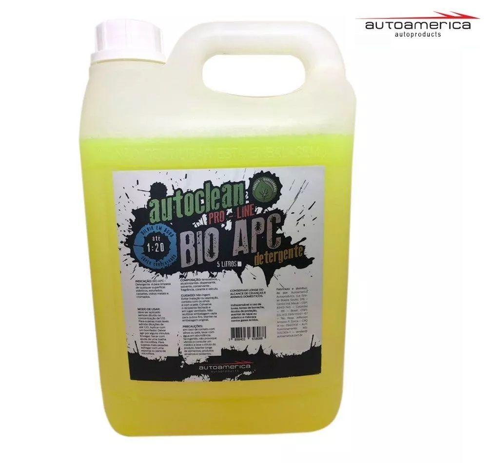 Detergente Autoclean 1:20 Bio Apc 5 Litros Autoamerica