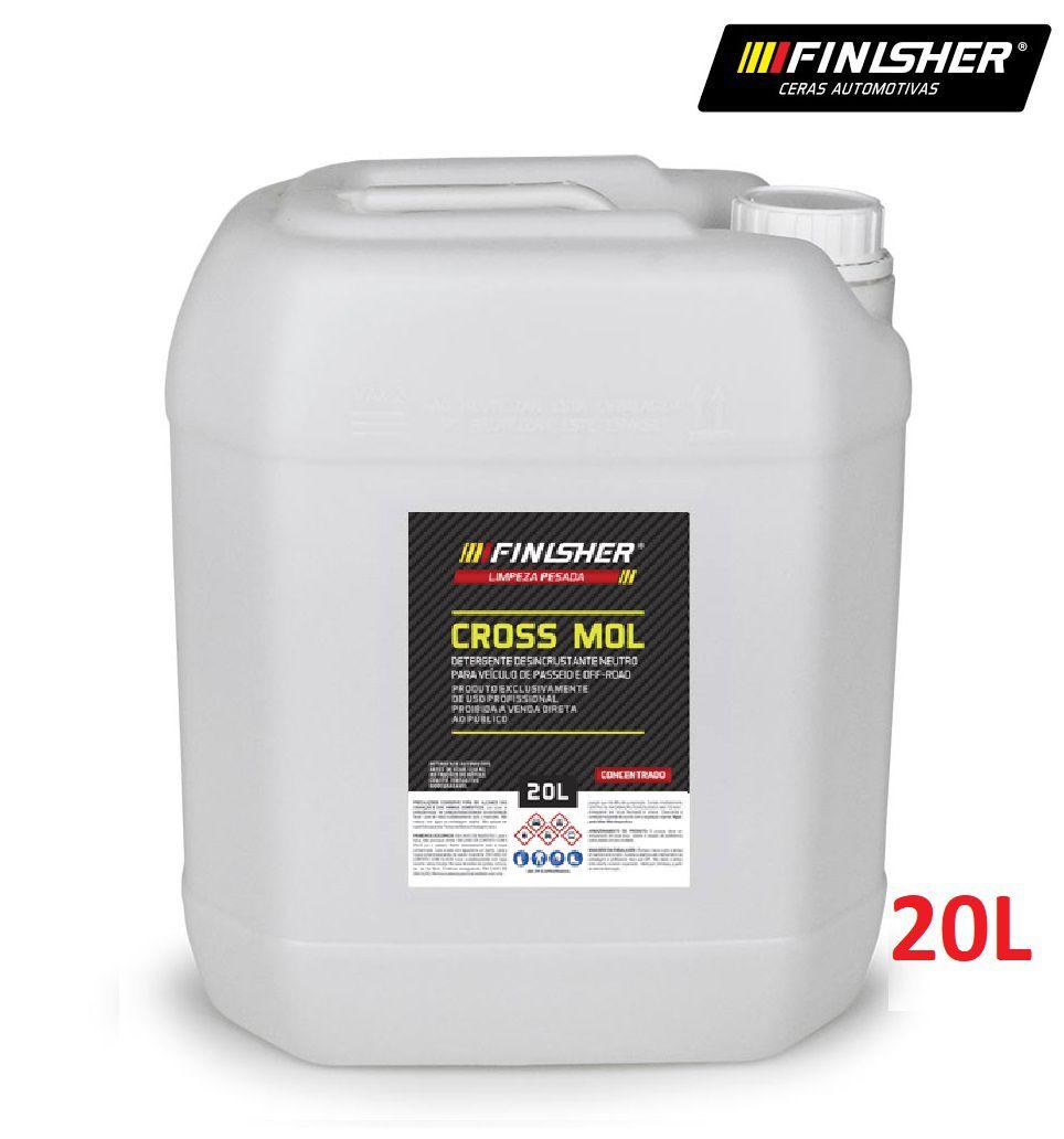 Detergente Neutro Cross Mol 20L Off Road Finisher desincrust