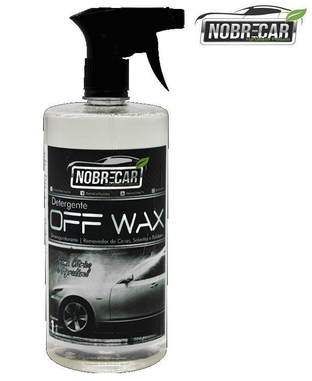 Detergente Off Wax Desengordurante Removedor Cera 1L Nobre Car