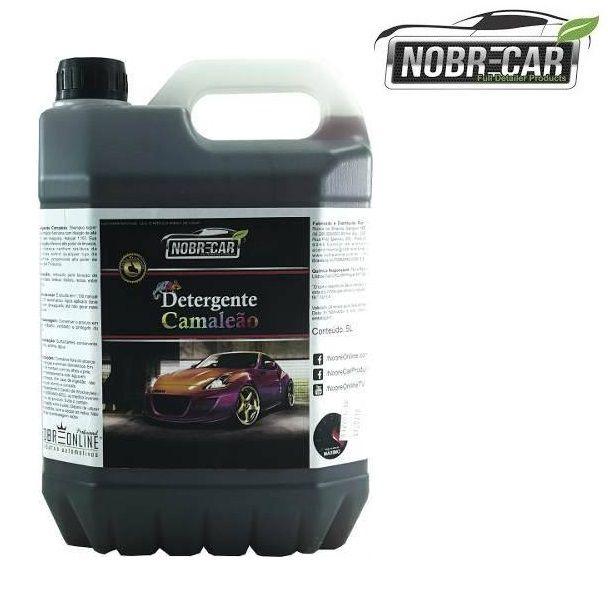 Detergente Super Concentrado Camaleão 5L Nobre Car