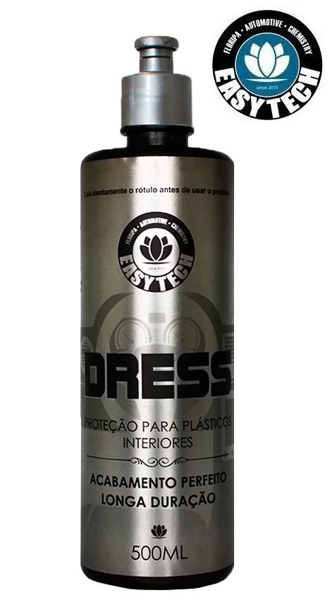 Dress Revitalisador Painel Plásticos Couro 500ml Easytech