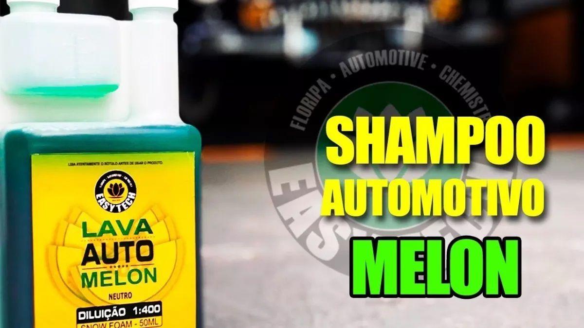 Shampoo Automotivo 1:400 Melon Concentrado 1,2l Neutro Easytech