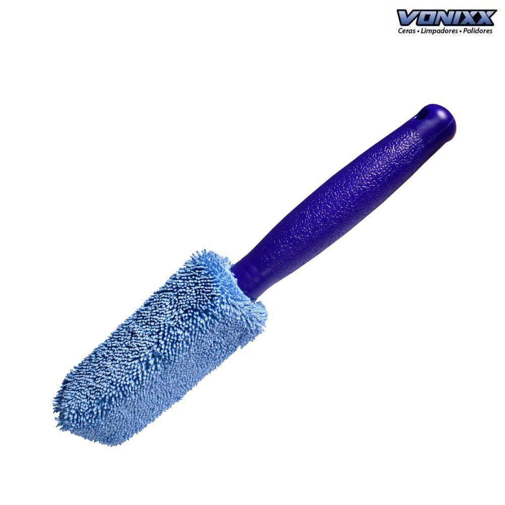 Escova de microfibra para limpeza de aros rodas Vonixx
