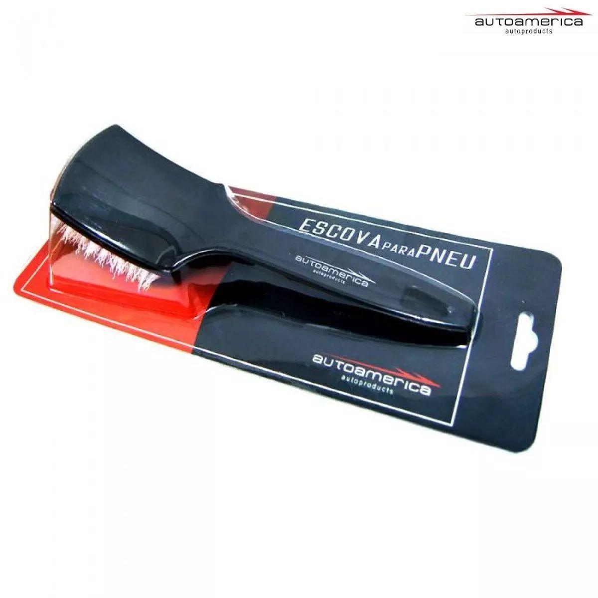 Escova para limpeza de pneus Autoamerica Tire Brush MS-wb09