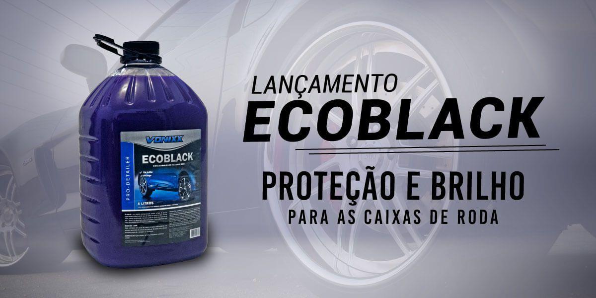 Finalizador protetor Caixa de Rodas Ecoblack 5L Vonixx