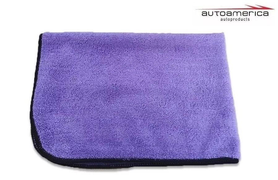 Flanela De Microfibra Roxa Purple Autoamerica 60x40 (sem Emb)