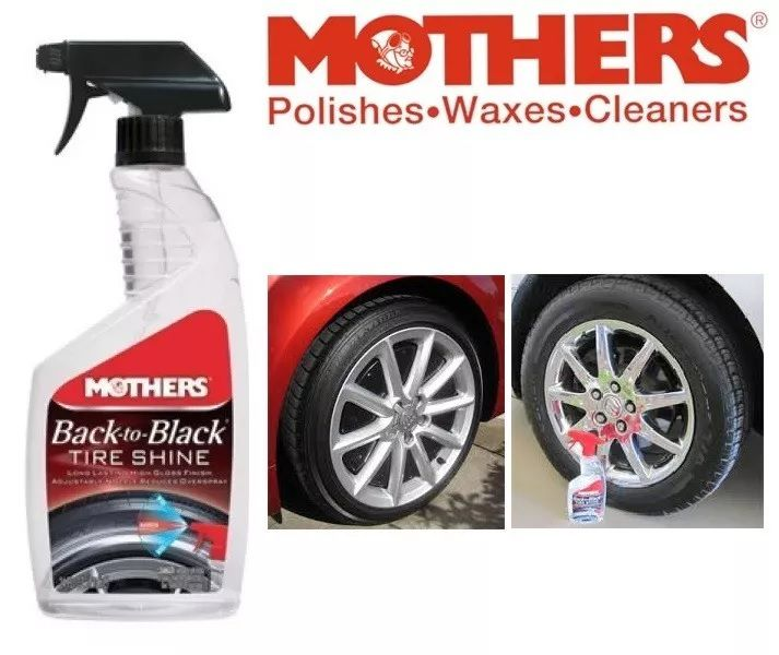 Gel para Pneus Back to Black Tire Shine Mothers 710ml